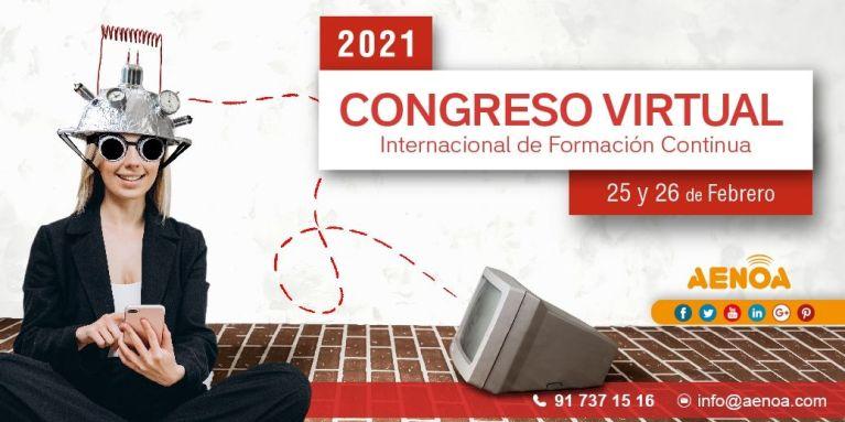 AENOA y Akency por el Congreso Virtual Internacional de Formación Continua 1
