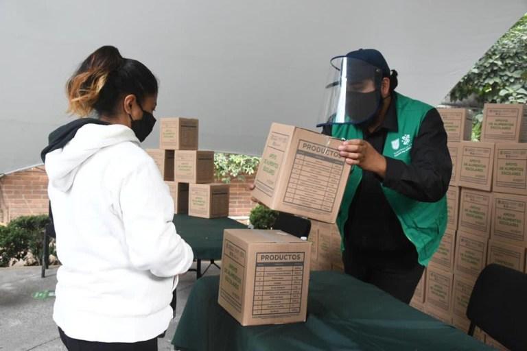 Avanza Gobierno Capitalino con la entrega de 103 mil 124 apoyos alimentarios escolares durante la pandemia 1