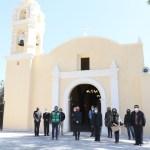 Entrega Gobierno capitalino restauración de Parroquia de Santa María Nativitas en Xochimilco dañada por el... 5