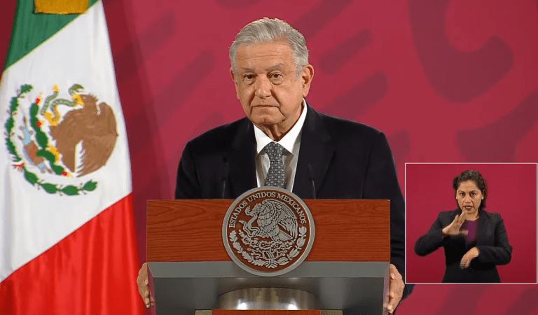 """""""Es un hecho histórico"""": AMLO de la eliminación del fuero presidencial"""
