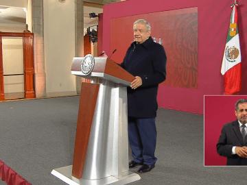 """""""No hay ningún acuerdo en lo oscurito"""": AMLO sobre caso Cienfuegos 7"""