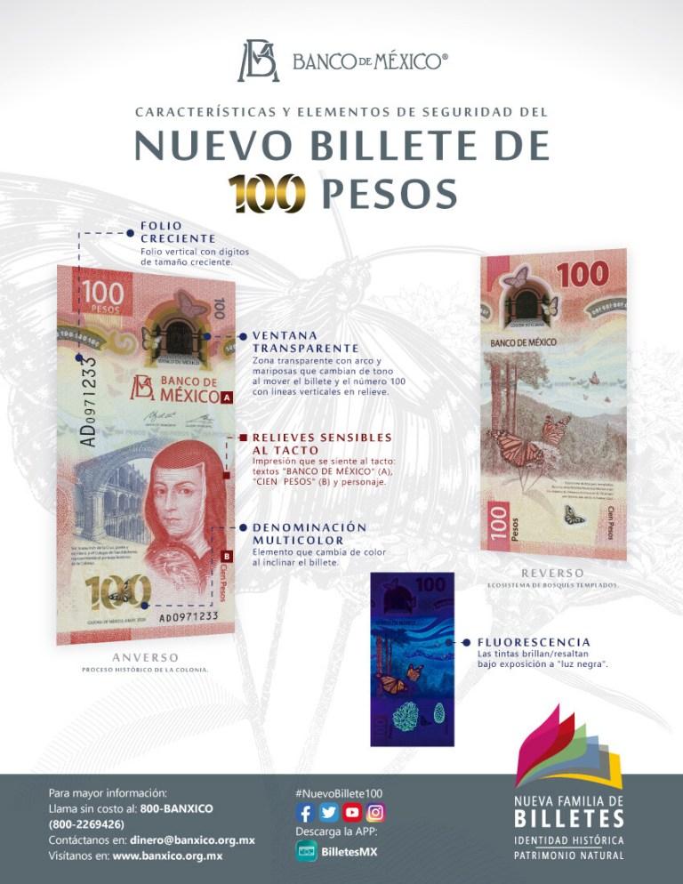 El Banco de México presenta nuevo billete de 100 pesos que rinde homenaje a Sor Juana Inés de la Cruz 1