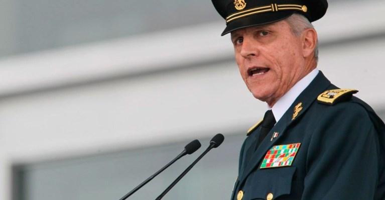 El general Salvador Cienfuegos ya está en México 1