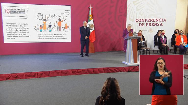 """""""La 4T es feminista"""": Olga Sánchez Cordero en el Día Internacional de la Eliminación de la Violencia contra la Mujer 1"""