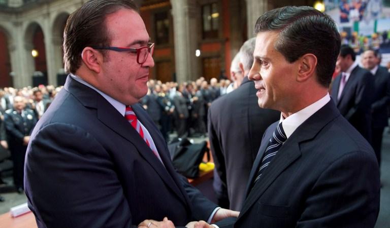 Javier Duarte se dice dispuesto a declarar sobre los apoyos que recibió Peña Nieto de Odebrecht