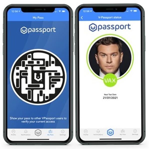 La compañía británica de tecnología lanza el primer pasaporte de salud 'Fit to Fly' para viajes aéreos 'VPassport' 4
