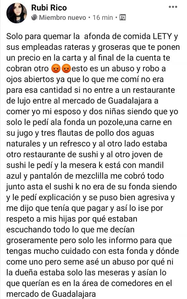 """Clausuran """"La fonda más cara de Guadalajara"""" 5"""