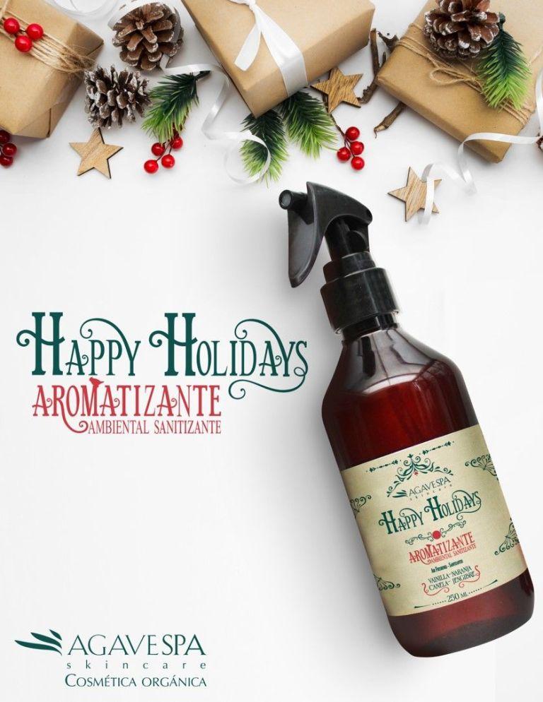 Los aromas de la Navidad llegan a AgaveSpa con su Aromatizante Ambiental Sanitizante 1