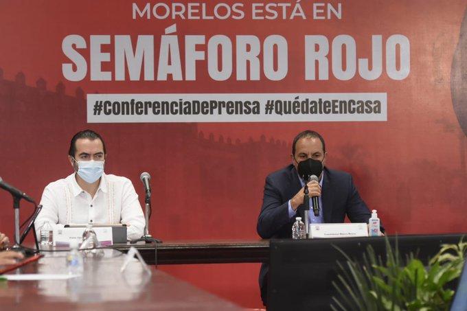 """""""Estamos tomando una difícil decisión pero sabemos que es lo correcto"""", Cuauhtémoc Blanco al anunciar semáforo rojo en Morelos 1"""