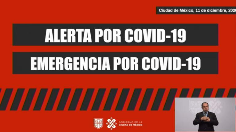 CDMX en Alerta y Emergencia por Covid-19: Claudia Sheinbaum 1