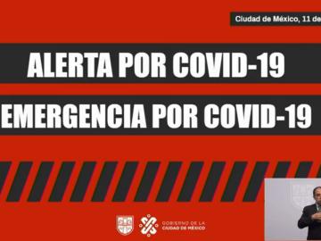 CDMX en Alerta y Emergencia por Covid-19: Claudia Sheinbaum 5