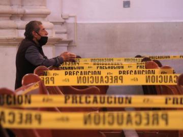 Por semáforo rojo, cancelan misas con presencia de fieles en templos católicos 8