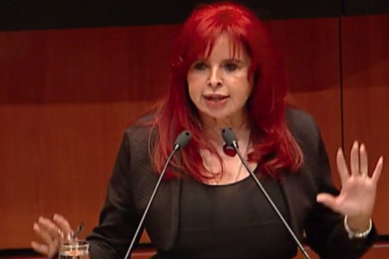 Layda Sansores se registra como aspirante de Morena por gubernatura de Campeche 1