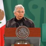 """""""Debe de quedar claro, se encuentra en pleno ejercicio de sus funciones como presidente de la República"""": Olga Sánchez Cordero de AMLO 5"""