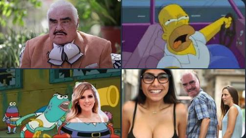 Exhiben en TikTok a Vicente Fernández tocando inapropiadamente a una joven. Las redes lo condenan (mejores memes)