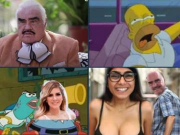 Exhiben en TikTok a Vicente Fernández tocando inapropiadamente a una joven. Las redes lo condenan (mejores memes) 10
