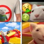 "Luego de ser llamado, ""Rata blanca privilegiada"" en Twitter, Stuart Little se vuelve tendencia 4"