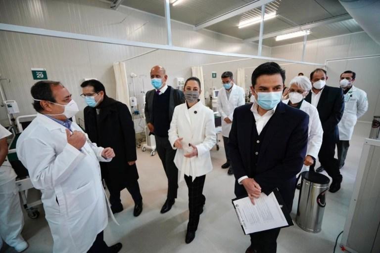 IMSS abre Centro de Atención Temporal Lindavista para atender pacientes Covid-19 1