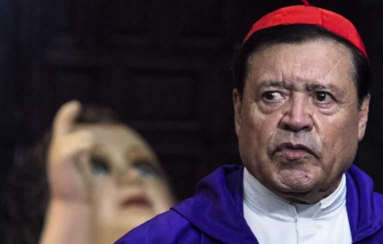 Cardenal Norberto Rivera fue desintubado y presenta mejoría 1