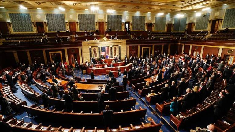 Congreso de EU ratifica victoria electoral de Joe Biden 1