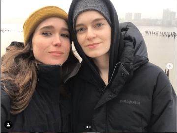 Después de tres años de matrimonio, Elliot Page se divorcia de Emma Portner 8