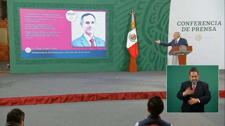 """""""Aunque se enojen, nosotros consideramos a López-Gatell un extraordinario servidor público, es de lo mejor"""": AMLO 1"""