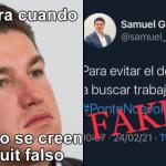 """Así desmiente Samuel García tuit """"falso"""" que se volvió viral 4"""