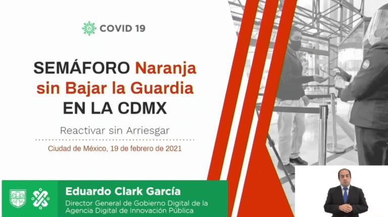 """CDMX permanece en semáforo naranja """"Sin bajar la guardia"""" 1"""