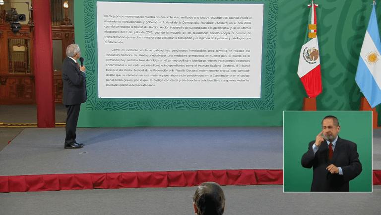 AMLO propone a gobernadores, un acuerdo nacional para no intervenir en elecciones 1