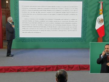 AMLO propone a gobernadores, un acuerdo nacional para no intervenir en elecciones 13