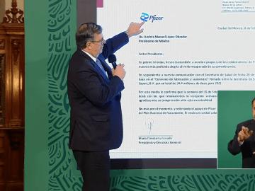 La semana del 15 de febrero, Pfizer reanudará el suministro de vacunas a México 5