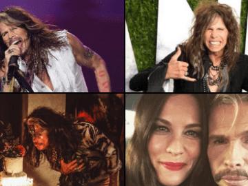 Steven Tyler, líder y vocalista de Aerosmith, cumple 73 años 2