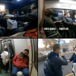 En combi y en metro, Ricardo Anaya acompaña a enfermera responsable de hacer pruebas Covid en clínica del IMSS (video) 9