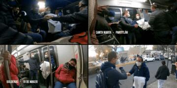 En combi y en metro, Ricardo Anaya acompaña a enfermera responsable de hacer pruebas Covid en clínica del IMSS (video) 10