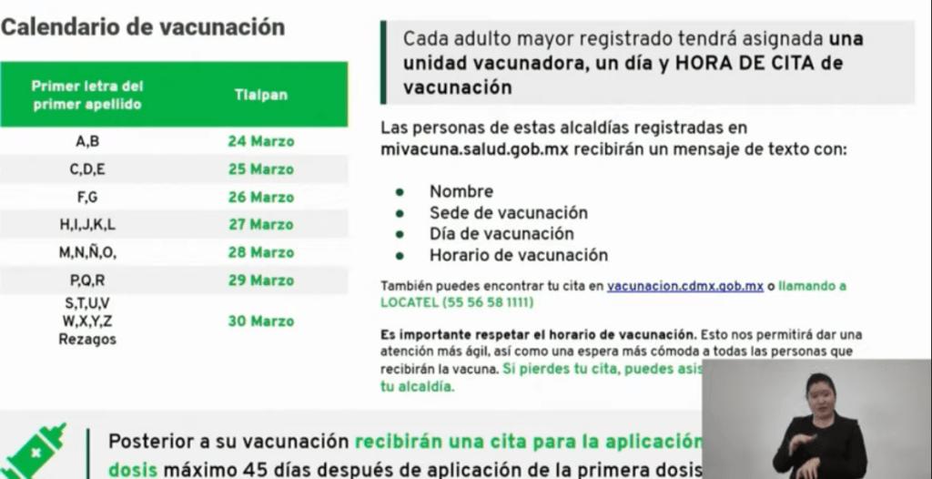 Fechas y sedes para vacunación anticovid en Tlalpan y Coyoacán 10