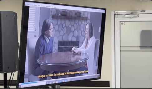 Revelan video de la candidata morenista Clara Luz conversando con Keith Raniere 1