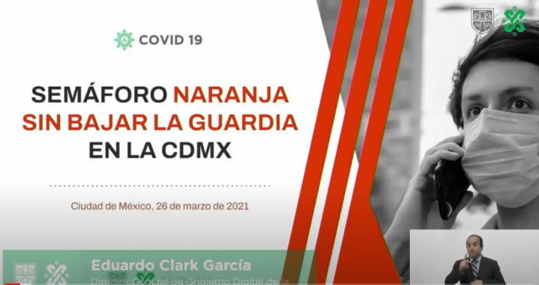 CDMX continúa en semáforo naranja. Entérate qué actividades se reanudan y hay nuevas medidas para el sector restaurantero 1