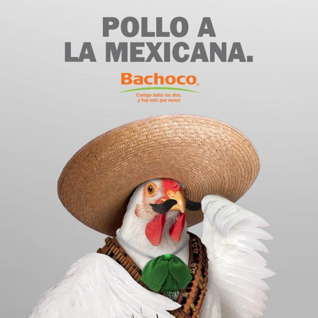 """Con """"Pollo a la poblana"""", Bachoco se vuelve tendencia en redes sociales. 9"""
