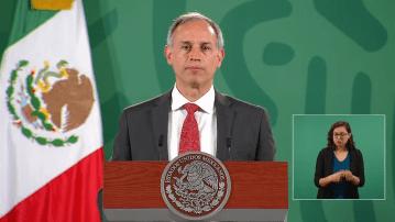 """""""Estamos en un proceso muy alentador de reducción de la epidemia"""", López-Gatell 2"""