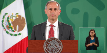 """""""Estamos en un proceso muy alentador de reducción de la epidemia"""", López-Gatell 10"""