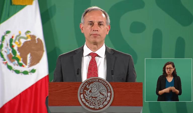 """""""Estamos en un proceso muy alentador de reducción de la epidemia"""", López-Gatell"""