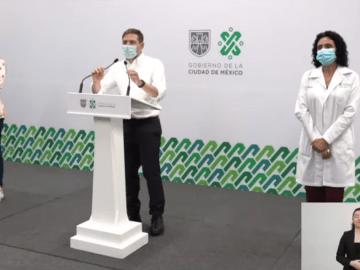Autoridades del Gobierno capitalino informaron sobre el avance del Plan Nacional de Vacunación en la Ciudad de México 9