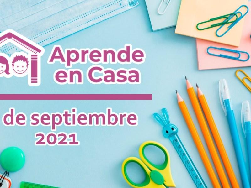 17 de septiembre aprende en casa