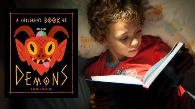 Libro para niños dice como invocar demonios