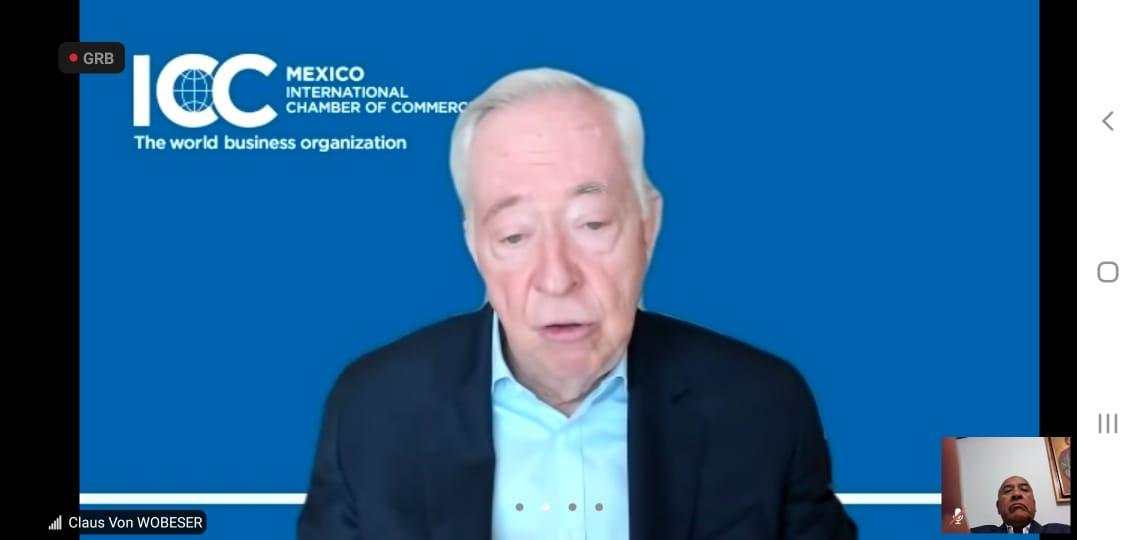 Claus von Wobeser, presidente ICC México