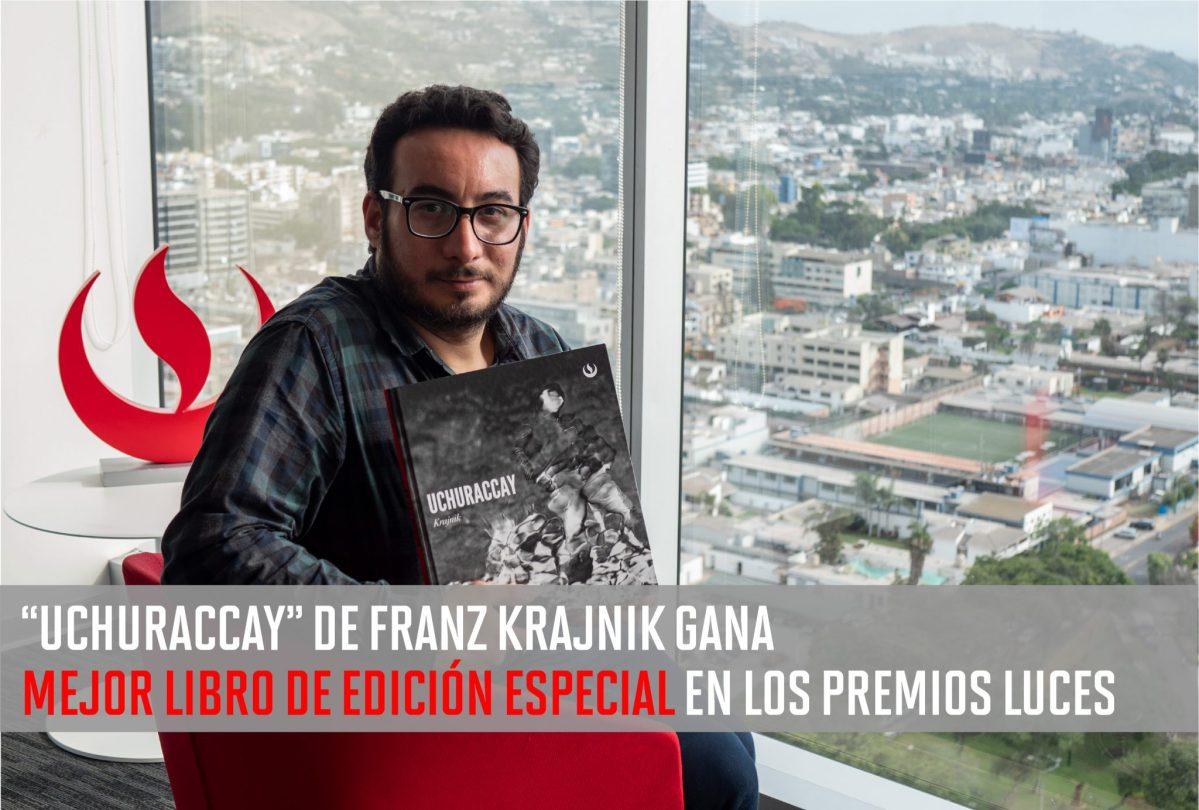 """Libro """"Uchuraccay"""" de Franz Krajnik, docente de la Carrera de Comunicación y Fotografía, gana en los Premios Luces"""