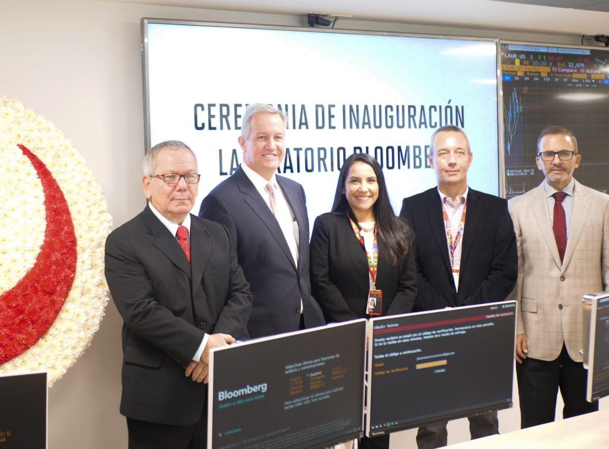 Bloomberg: Se inauguraron modernos laboratorios en Campus San Isidro y Monterrico