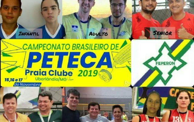 Atleta de Cacoal brigará pelo bicampeonato no Brasileiro de Peteca 2019