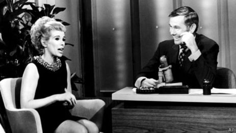 Joan Rivers y Johnny Carson