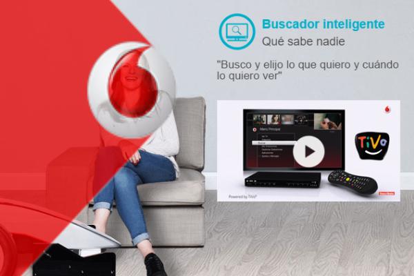 Vodafone lanza el primer descodificador 4K del mercado en España